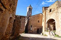 Església parroquial de Sant Marçal d´Estac.