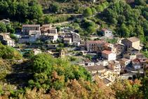 El poble de Cercs.