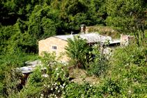 Horts i barraques prop de Berga.