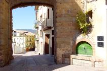 Portal de Santa Magdalena.