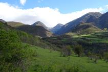 Serra Mitjana i la vall de la Gola.