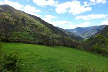 Prats de pastura a la vall d´Unarre.