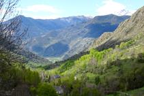 La vall d´Unarre.