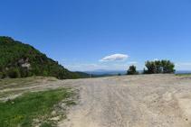 Coll que separa Sant Isidre i la Roca del Capellà.
