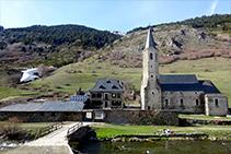 El santuari i la Noguera Pallaresa.