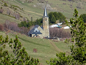 Montgarri, un santuari entre l�Aran i el Pallars