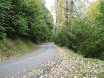 L´estreta vall de Varradòs.