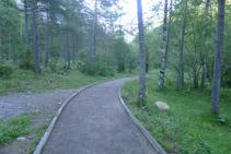 Primer tram del sender.