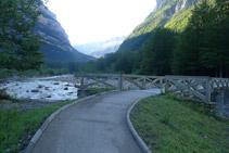 Pont sobre el riu Arazas.