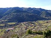 La serra de Puig d´Estela a Vallfogona de Ripollès