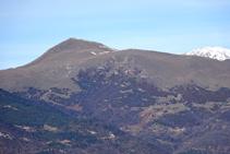 El Taga i el Puigmal al fons.