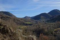 Coll de Canes, camí a Vallfogona de Ripollès.