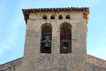 Campanar de Sant Julià de Vallfogona.