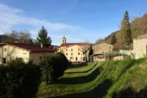 Camí ral entrant a Vallfogona de Ripollès.