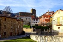 Carrers de Vallfogona de Ripollès.