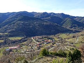 La serra de Puig d�Estela a Vallfogona de Ripoll�s