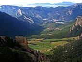 Serra Seca i el Pla de les Gu�rdies des de Cambrils