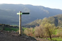 Cruïlla cap a Montardit de Baix.