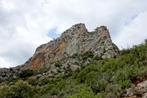 Roca de Sant Pere Vell.
