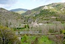 A les envistes del monestir de Santa Maria de Gerri.