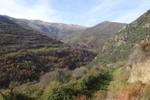 Vistes de la Vall d´Àssua.