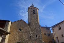Església de Sant Serni d´Altron.