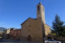 Església de la Mare de Déu de la Candelera, a Olp.