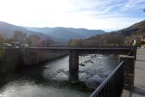 Pont sobre el Noguera Pallaresa.