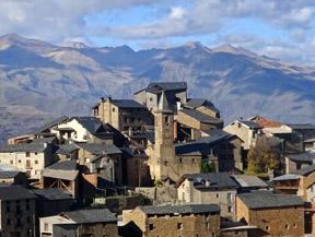 Tornafort i la vall de Siarb des de Sort