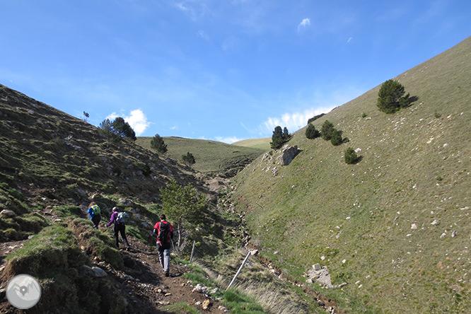 Taga (2.040m) des de Pardines 1