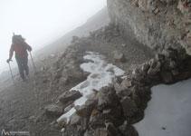 Alguns dels bivacs que trobem estan realment ben protegits per la paret sud de la punta Bazillac.