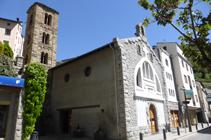 Església de Sant Julià i Sant Germà.