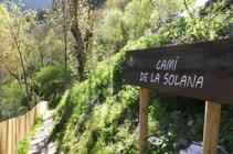 Camí de la Solana.
