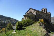 Església de Sant Serni de Nagol.