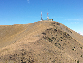Torreta de l�Orri (2.439m) des de Llagunes