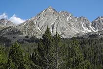 Ens trobem en un entorn d´alta muntanya preciós.