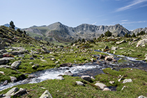 La capçalera de la Vall del Madriu.