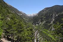 Vista general de la Vall del Madriu.