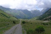 Vista de la vall d´Otal des de la seva capçalera.