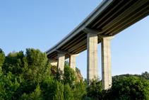 El pont de la C-16.