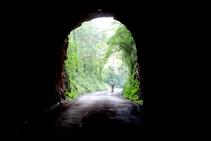 Sortint del segon túnel.