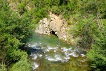 El riu Llobregat.