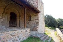 Portalada de Sant Quirze de Pedret.