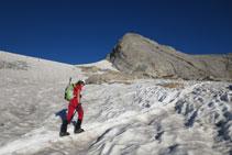 Progressant per la glacera, que trobem en molt bon estat.