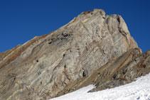 Les formes que fa la roca del Gran Vignemale són sorprenents.