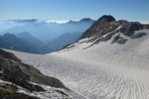 Vistes de la glacera d´Ossoue i el Montferrat.