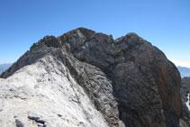 Cada cop tenim el cim del Montferrat més a prop.