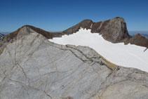 La Marmolera, un impressionant tobogan de roca calcària.