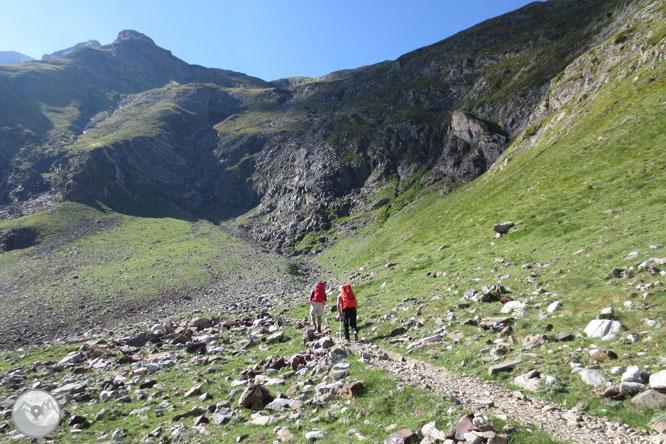 Del Gran Vignemale (3.298m) al Montferrat (3.219m) des d