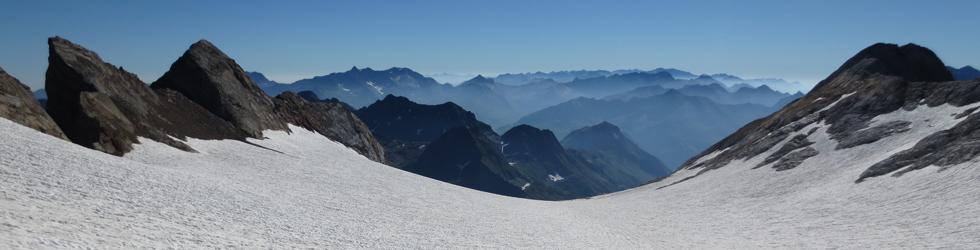 Del Gran Vignemale (3.298m) al Montferrat (3.219m) des d�Ossoue